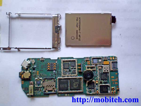 разобрать Nokia 7500