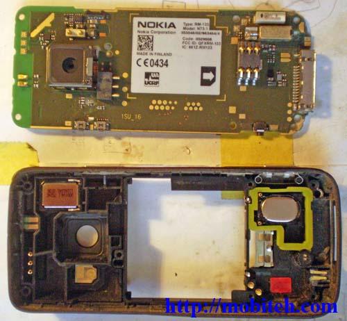 Сборка производится в обратном порядке. скачать Nokia N73-1 прошивка, схема, солюшен, сервис-мануал.