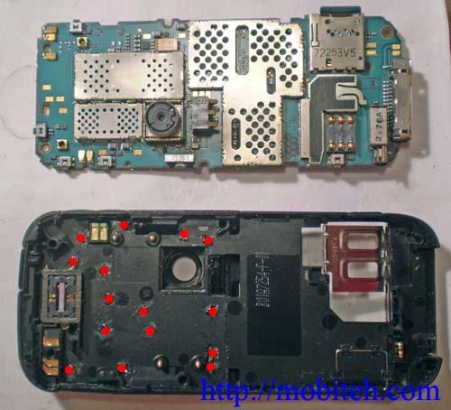 Как разобрать Nokia 6233
